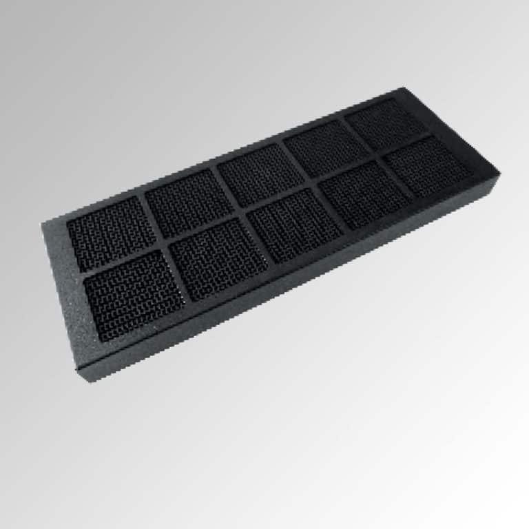 Aktivkohle-Wabenfilter (bis zu 10 x regenerierbar)