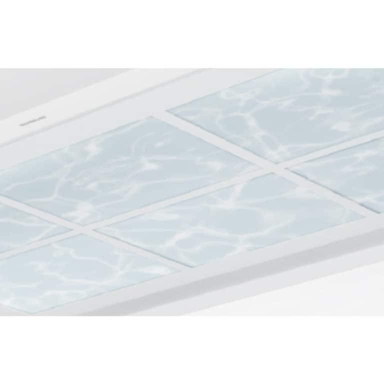 Acrylglasplatte Optik Water 100 x 70 cm