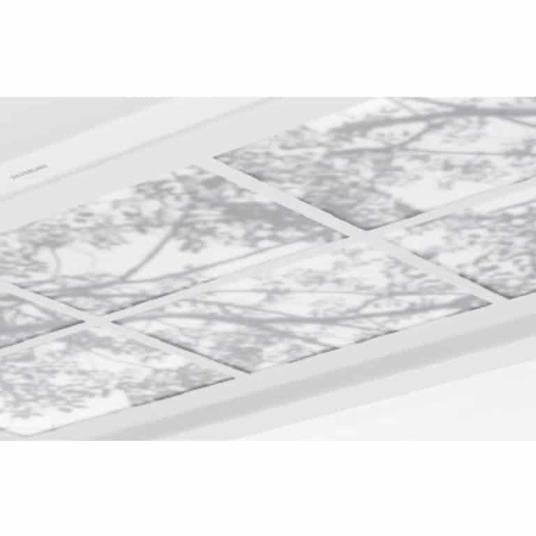 Acrylglasplatte Optik Wood 100 x 70 cm