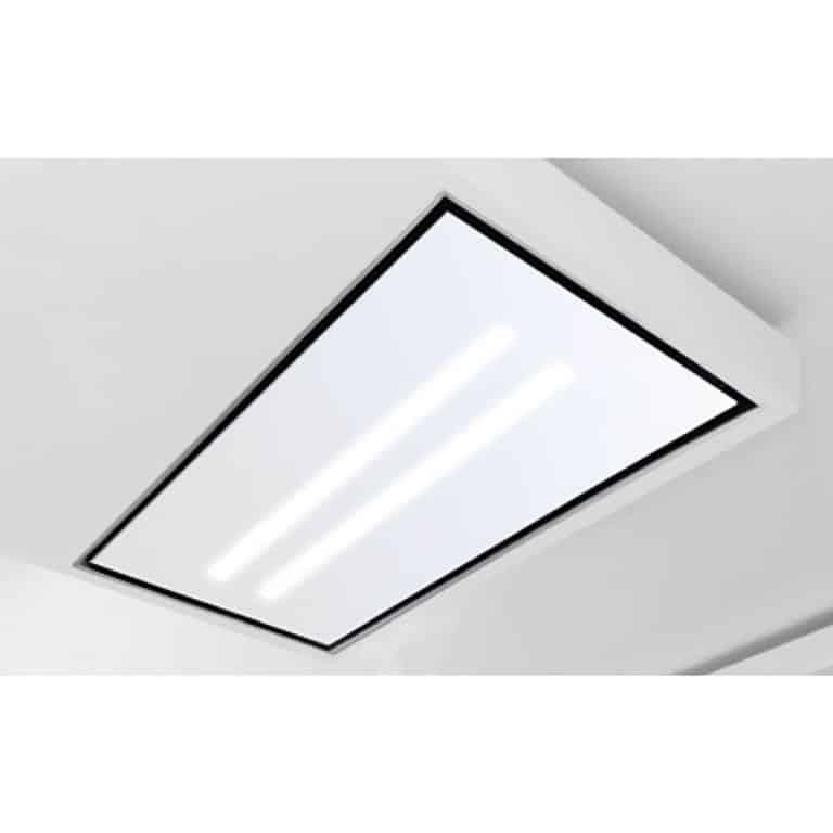 Glasplatte mit LED-Beleuchtung, Weißglas 120 x 60 cm